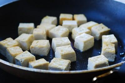 DSC 0943 e1443931076709 - Tofu Bibimbap (Vegan Bibimbap)