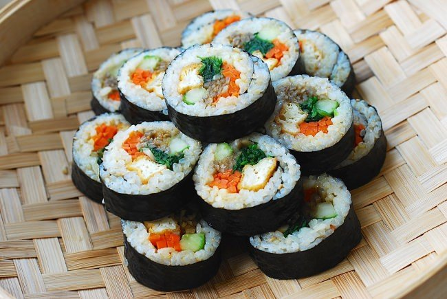 tofu gimbap recipe
