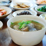 DSC 0943 150x150 - Tteok Mandu Guk (Rice Cake Soup with Dumplings)