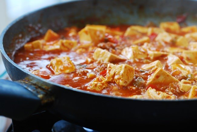 DSC 0943 1 e1453178970929 - Mapo Tofu (Korean-Style)