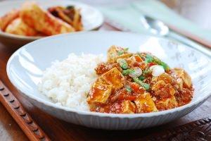 Mapo Tofu (Korean-Style)