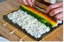 gimbap recipe 111 - Gimbap (Korean Seaweed Rice Rolls)