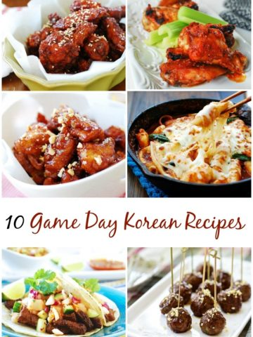 10 Korean Recipes for Super Bowl Sunday