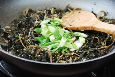 Chwinamul recipe