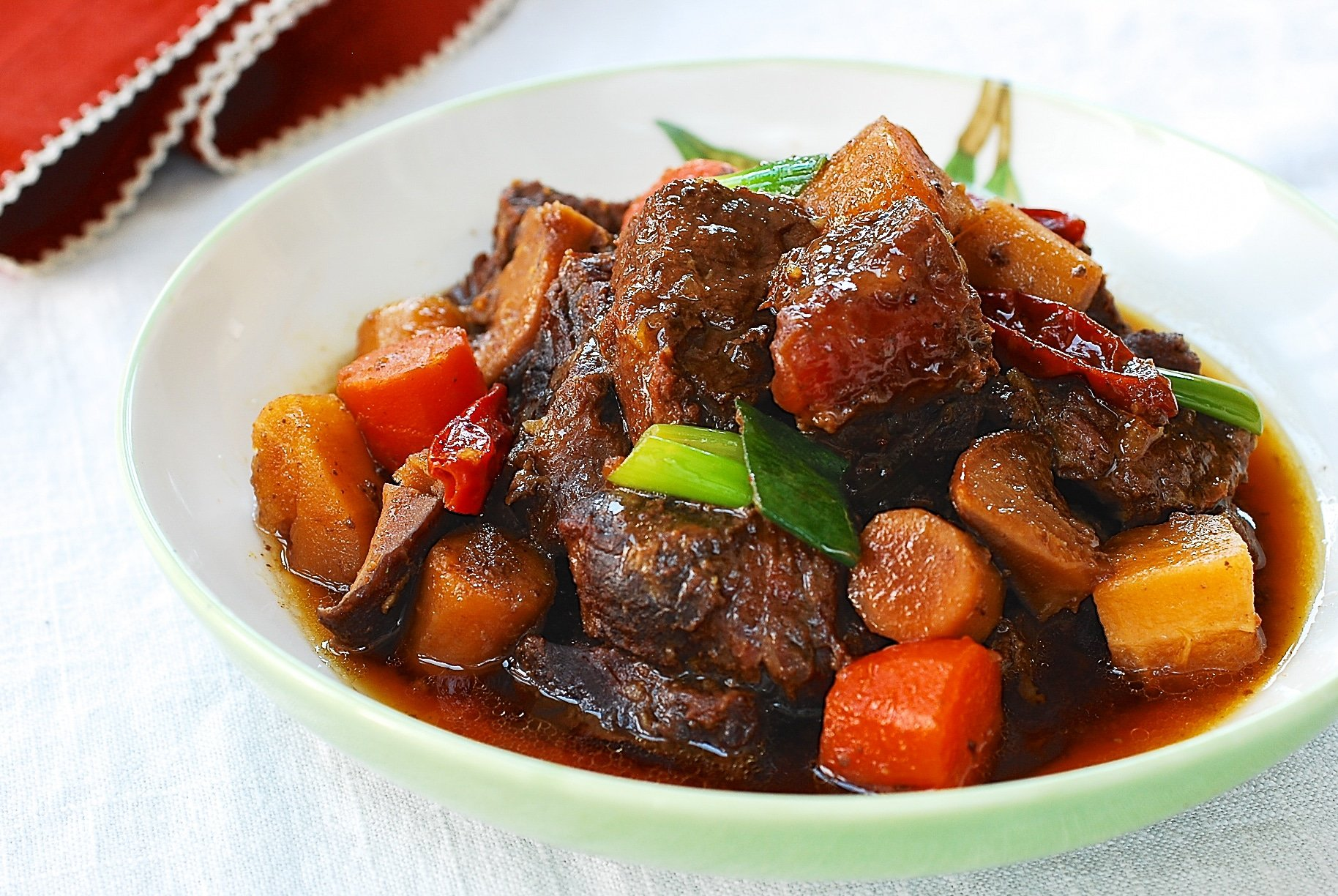 DSC 1067 1 - Sataejjim (Slow Cooker Braised Beef Shank)
