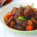 Sataejjim (Slow Cooker Korean Braised Beef Shank)