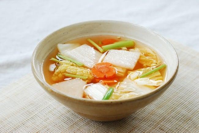 DSC 1104 e1459218467926 - Nabak Kimchi (Water Kimchi)