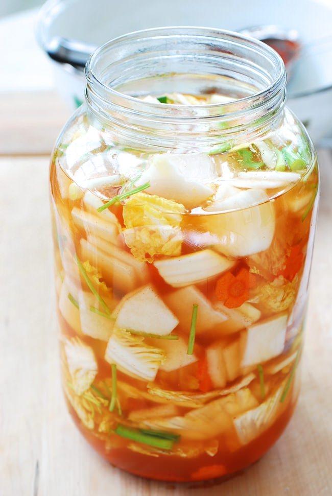 DSC 1164 e1459217316101 - Nabak Kimchi (Water Kimchi)