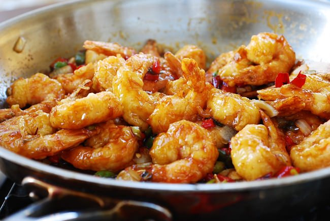 DSC 1046 e1460513341787 - KKanpung Saeu (Sweet and Spicy Shrimp)