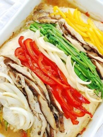 Saengseonjjim (baked fish)