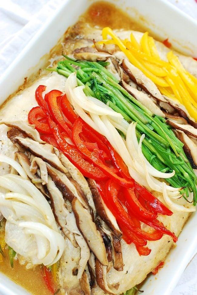 DSC 0021 e1466997740662 - Saengseon Jjim (Baked fish)