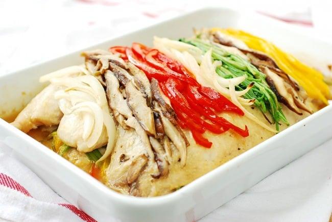 DSC 0057 e1466997441483 - Saengseon Jjim (Baked fish)