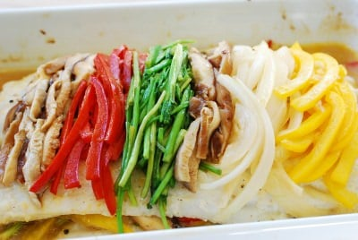 DSC 1215 e1467000712184 - Saengseon Jjim (Baked fish)