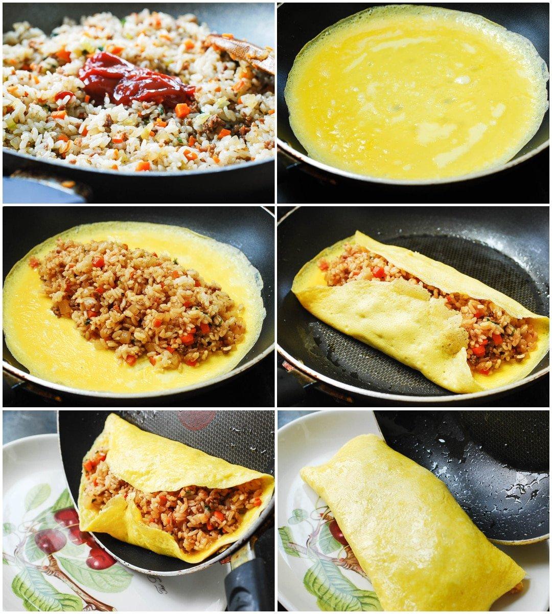 Blank 1083 x 1500 - Omurice (Omelette Rice)