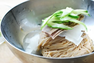 DSC 0042 e1468814921100 - Naengmyeon (Cold Noodles)