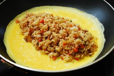 Omurice (omeletter rice)