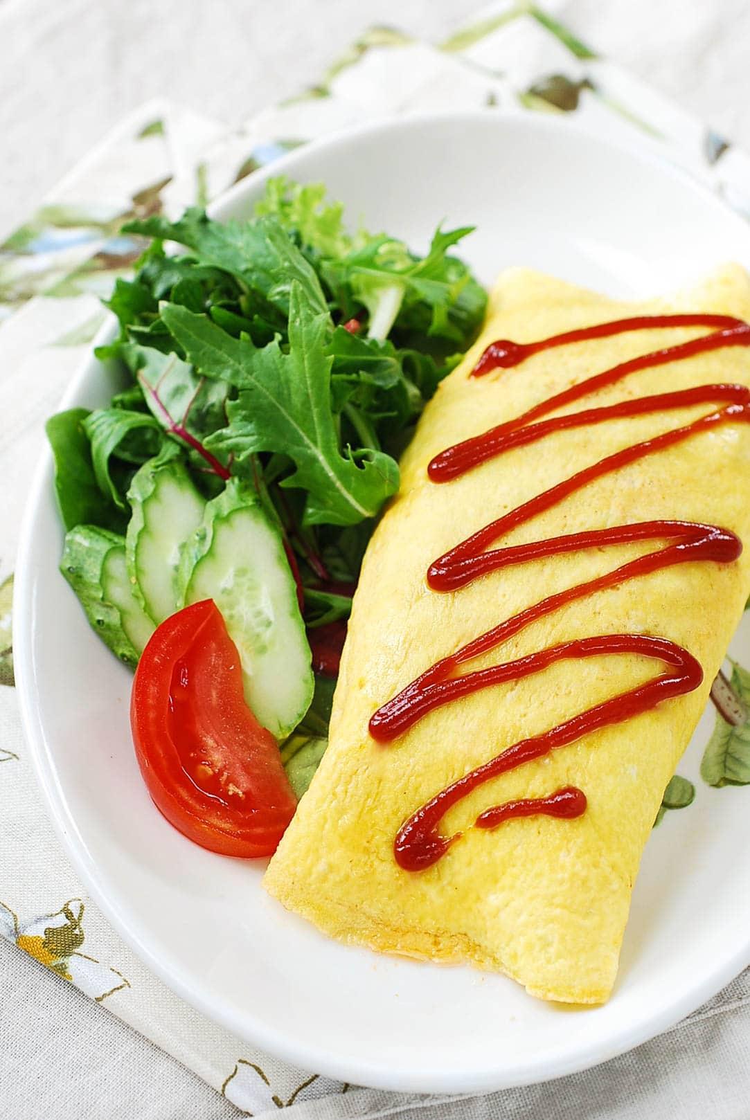 DSC 0135 - Omurice (Omelette Rice)