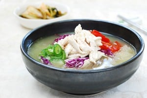 Chogyetang (Chilled Korean Chicken Soup)