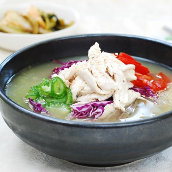 Chogyetang (Chilled Korean Chicken Soup)