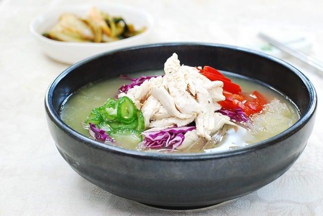 DSC 0292 e1471315051386 - Chogyetang (Chilled Chicken Soup)