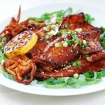 Ojingeo Gui (Spicy Grilled Squid)