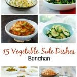 15 Korean Vegetable Side Dishes