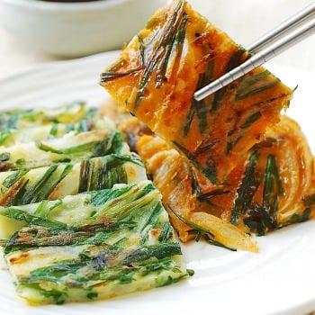 DSC 0520 350x350 - Buchujeon (Garlic Chive Pancakes)