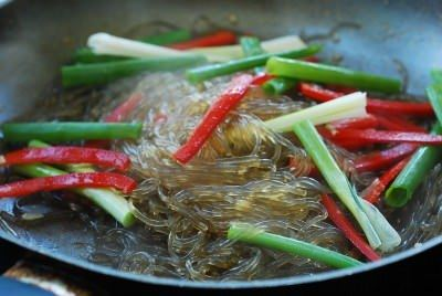 Kongnamul Japchae (Japchae with soybean sprouts