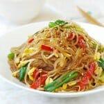 DSC 0423 150x150 1 - Kongnamul Japchae (Soybean Sprout Japchae)