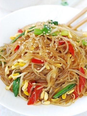 Kongnamul Japchae (Japchae with soybean sprouts