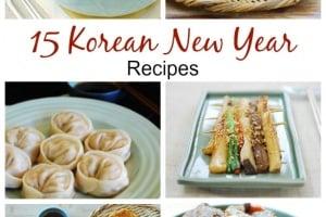 15 Korean New Year Recipes