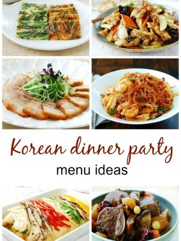 korean dinner party menu ideas 360x480 - All Recipes