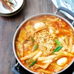 DSC 1808 150x150 - Seafood Cheese Tteokbokki (Spicy Rice Cake)