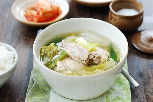 DSC 1844 e1485143898400 - Slow Cooker Chicken Soup with Napa Cabbage