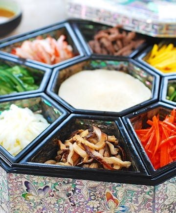 Gujeolpan (Platter of Nine Delicacies)