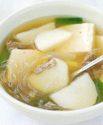 Gamjaguk (Korean Potato Soup)