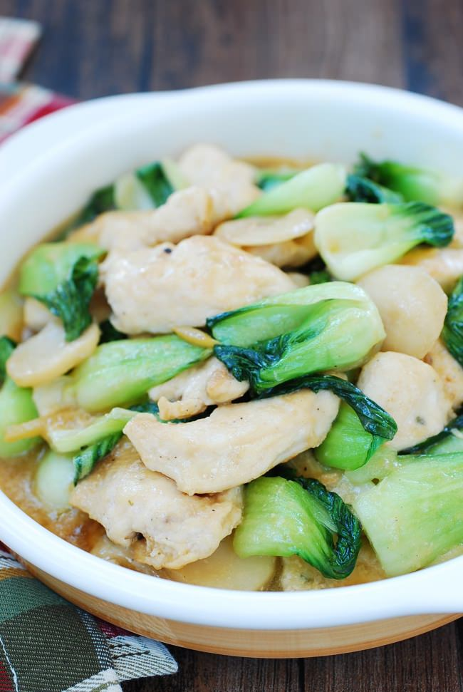 DSC 1909 e1488161964899 - Chicken Stir Fry with Baby Bok Choy