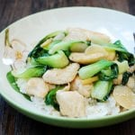 Chicken Stir Fry with Baby Bok Choy