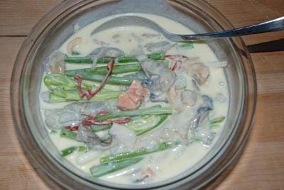 Haemul Pajeon - Korean seafood scallion pancakes!