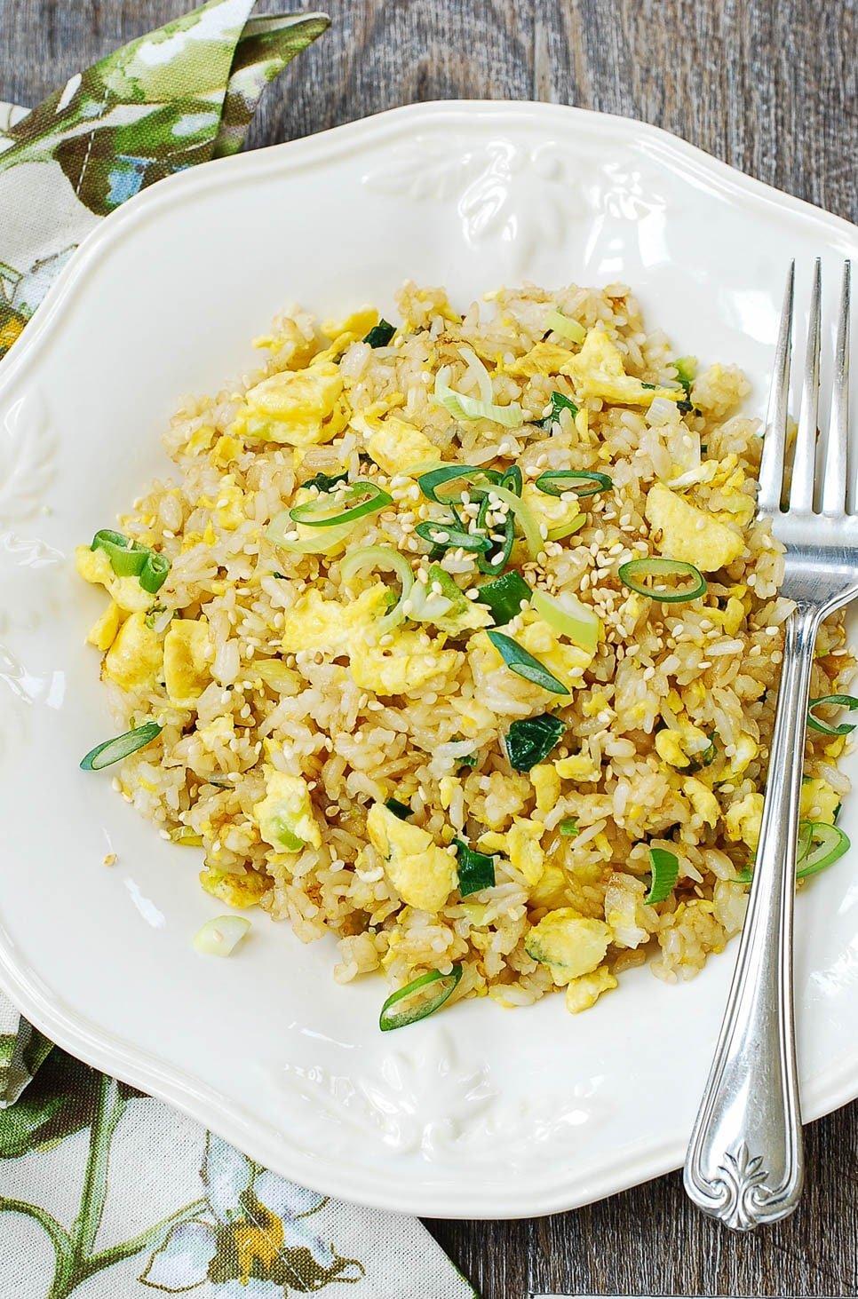 DSC 1919 1 - Egg Fried Rice (Gyeran Bokkeumbap)
