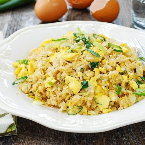 DSC 1939 2 500x500 - Egg Fried Rice (Gyeran Bokkeumbap)