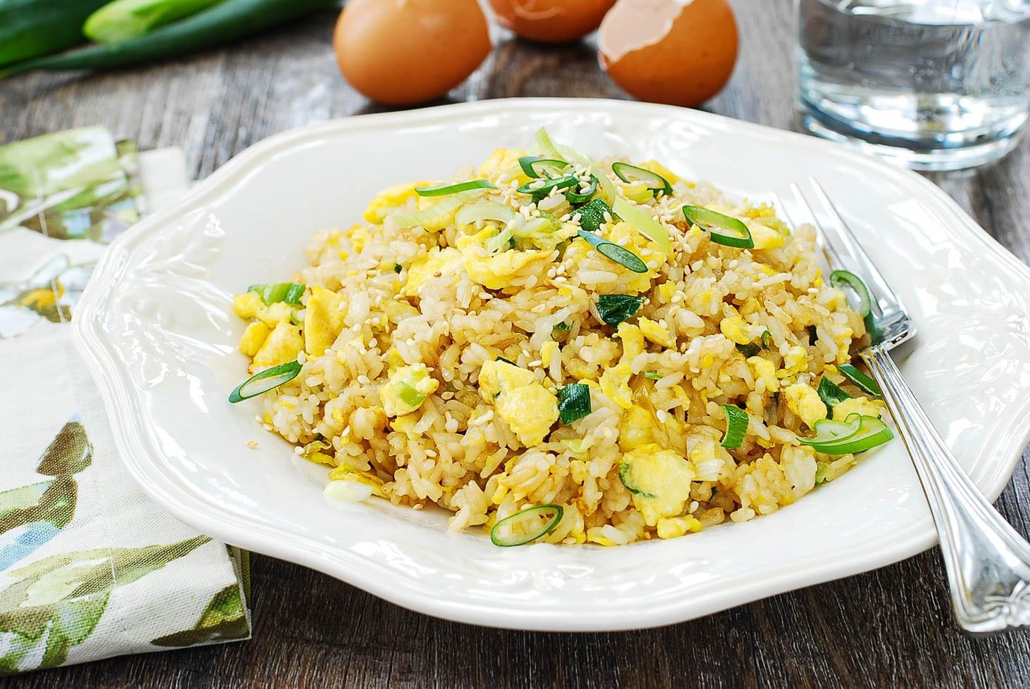 DSC 1939 2 - Egg Fried Rice (Gyeran Bokkeumbap)