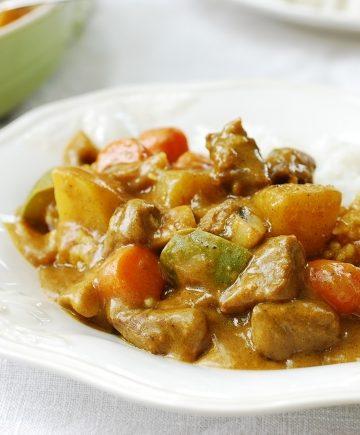 Korean curry rice