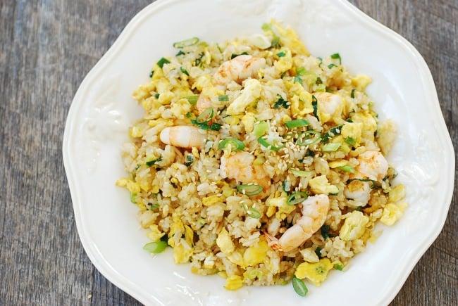 Egg and Shrimp fried rice (Gyeran bokkeumbap)