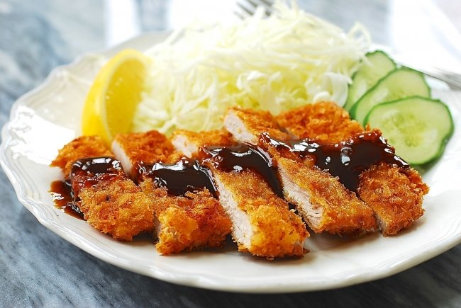 Easy Tonkatsu (Donkkaseu) Recipe Made with Pork Loin Chops