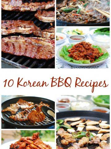 10 Korean BBQ Recipes
