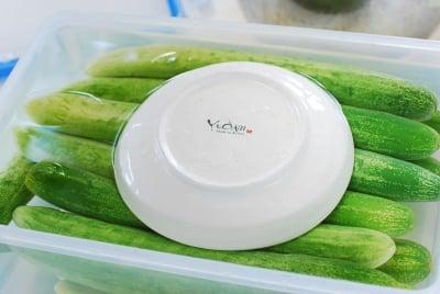 DSC 0107 e1502941387480 - Oiji (Korean Pickled Cucumbers)