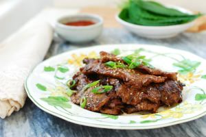 Flank Steak Bulgogi