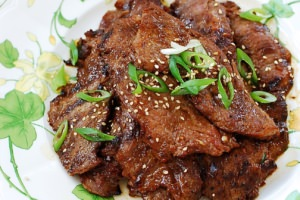Flank Steak Bulgogi Recipe