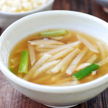 Mu Doenjang Guk (Korean Soybean Paste Radish Soup)